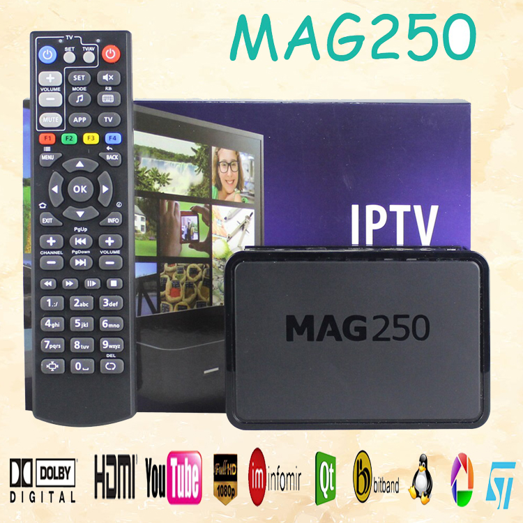 High end Hot iptv set top box1000+ channels download full HD TV mag 250 arabic iptv receiver tv channels