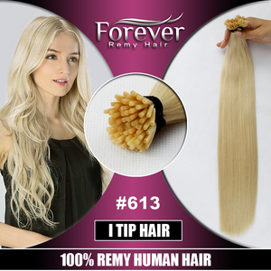 2018 Ali Best Selling I Tip Hair Extension European Keratin Remy Hair Virgin Hair Extension