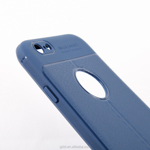 new china products for sale litchi grain soft TPU case for iphone 6 7 8 plus