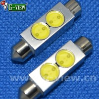 high power car led festoon 42mm 2w festoon led auto cob car interior lamp