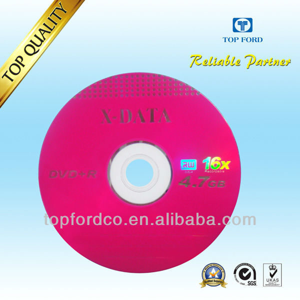 Blank DVD 16X for wholesale