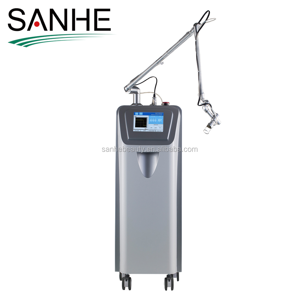 fractional laser machine for remove surgical scars / co2 laser skin rejuvenation beauty machine