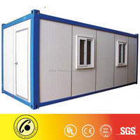 sandwich panel 20ft flat pack portable container homes manufacturer