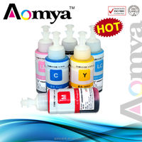 High quality inkjet ink for epson l100 printer with OEM comparable printing performance