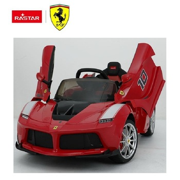 Rastar cool one person baby toys Ferrari kids electric ride on car