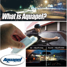 Aquapel Automotive Rain Repellent Dramatically Improves Visibility In Rain Glass Water Repellent,Universal Car Applicators Wiper