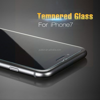 Factory Supplier High Transparant 2.5D Curved Edge Anti-scratch 9H Hardness Tempered Glass Screen Protector For iphone 7 *