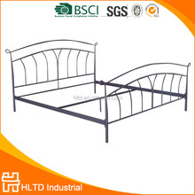Professional supply Best quality Cheap price strong double size metal bed