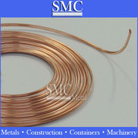 copper capillary tube pipe C10200 C12200 Copper Precision Tube for Air conditioner Heat Exchange etc.