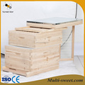 Multi-sweet best quality two layer langstroth beehive with good price