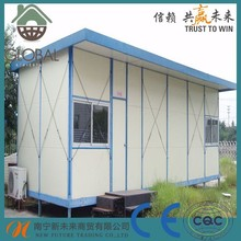 assembled prefabricated mobile homes with toilet
