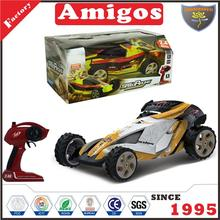 new arrival 2.4G 1:10 4 channel with high speed/PVC car body shell/USB CHARGING CABLE battery included RC racing toy for kids