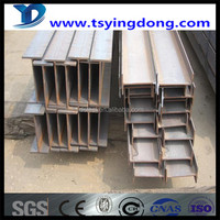 hot sale high quality price based on actual weight Q235 q345 hot rolled H beams prime