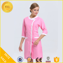 Hotel Uniform Custom Beauty Spa Uniform Newest 100% cotton salon and spa uniform