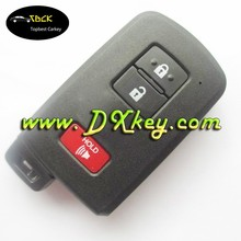 Best price 2+1 button remote control car cover for toyota remote key toyota crown smart key