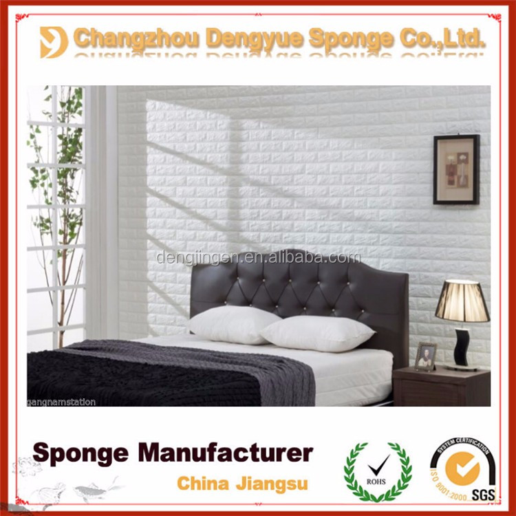 non-toxic soundproof embossed textured wallcovering 3d wall paper