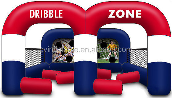 2014 Inflatable Dribble zone, Inflatable Soccer Game as inflatable Soccer Dribble