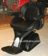 Black Men's Barber Chair A24B Top-grade Salon Furniture