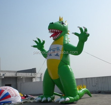 Advertising Inflatables Giant Dinosaur Balloons, Customized Inflatable Animal Monster