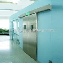 China clean room doors for hospital, thermal electric system(sliding door opener),doors interior half glass