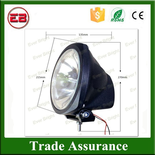 CE,ROHS Good Quality Wholesale 8'' 35W/55W 12V/9~16V High Intensity Discharge Headlights HID Work Light