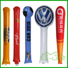 promotional portable custom PE boom sticks noisemakers cheering stick for adversting