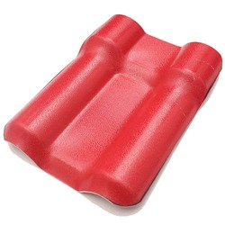 Color fast anti-aging asa pvc roof tile for guard box