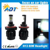 Top sales!!! 80W High low beam led headlight kit