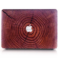 Wooden design case for apple macbook pro case cover