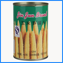 2016 new product cheap sweet young yellow corn cob canned food wholesale