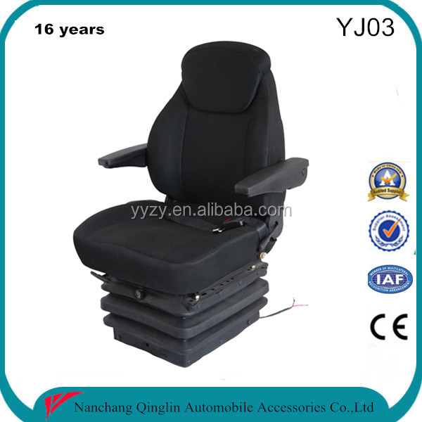 Grammer suspension heavy duty truck suspension seat for driver(YJ03)