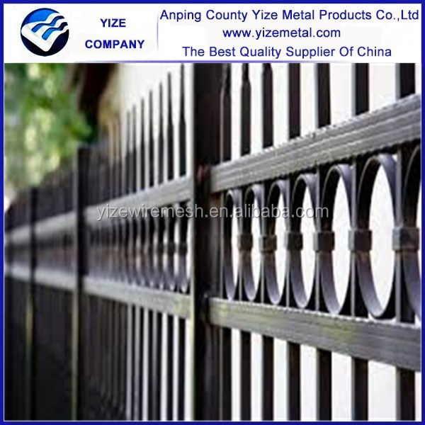 Quality Products ornamental double loop wire fence