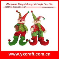 "christmas decoration (ZY11S318-1-2 22"") Christmas elf fairy clown toy decoration"