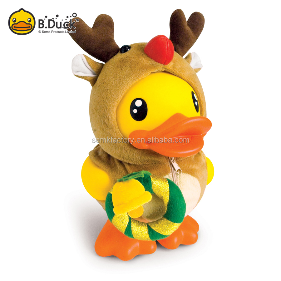 Christmas Cute Duck Shape Power Money Safe Saving Box For Kids As gifts