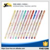 New style wholesale students and children 12 color Gel ink pen with pvc bag