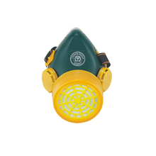 No 763005 gas mask double filter
