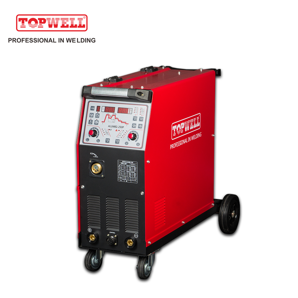 power weld double pulse 250 mig welder ALUMIG-250P