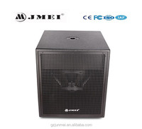 2015 new design active loudspeaker 15 inch subwoofer