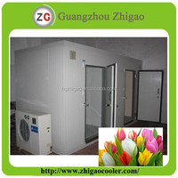 Flower Storage Cold Room With PU Sandwich Panel