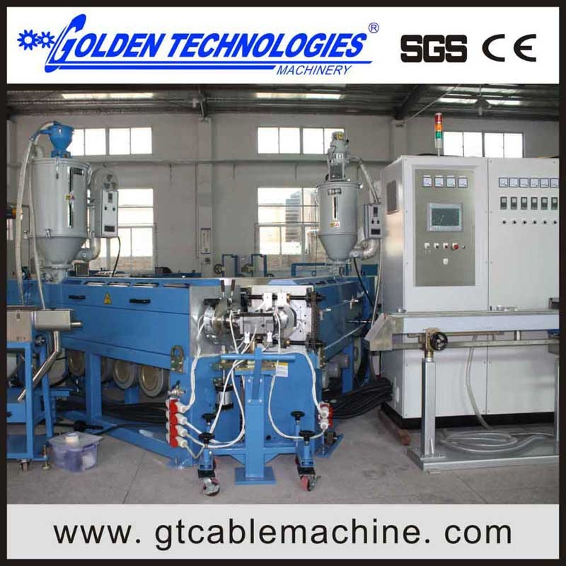 PVC Insulation Wire and Cable Extrusion Machine