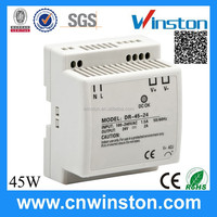 Hot selling Trade Assurance DR-45-12 45W 12V 3.5A Din Rail DC 12 Volt power supply