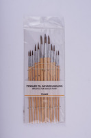 Wood Handle Material and Bristle Hair Material artist brush