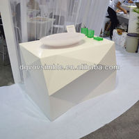 New Style of Bathroom Sanitary Acrylic Counter,Free Standing Solid Surface Bar Counter