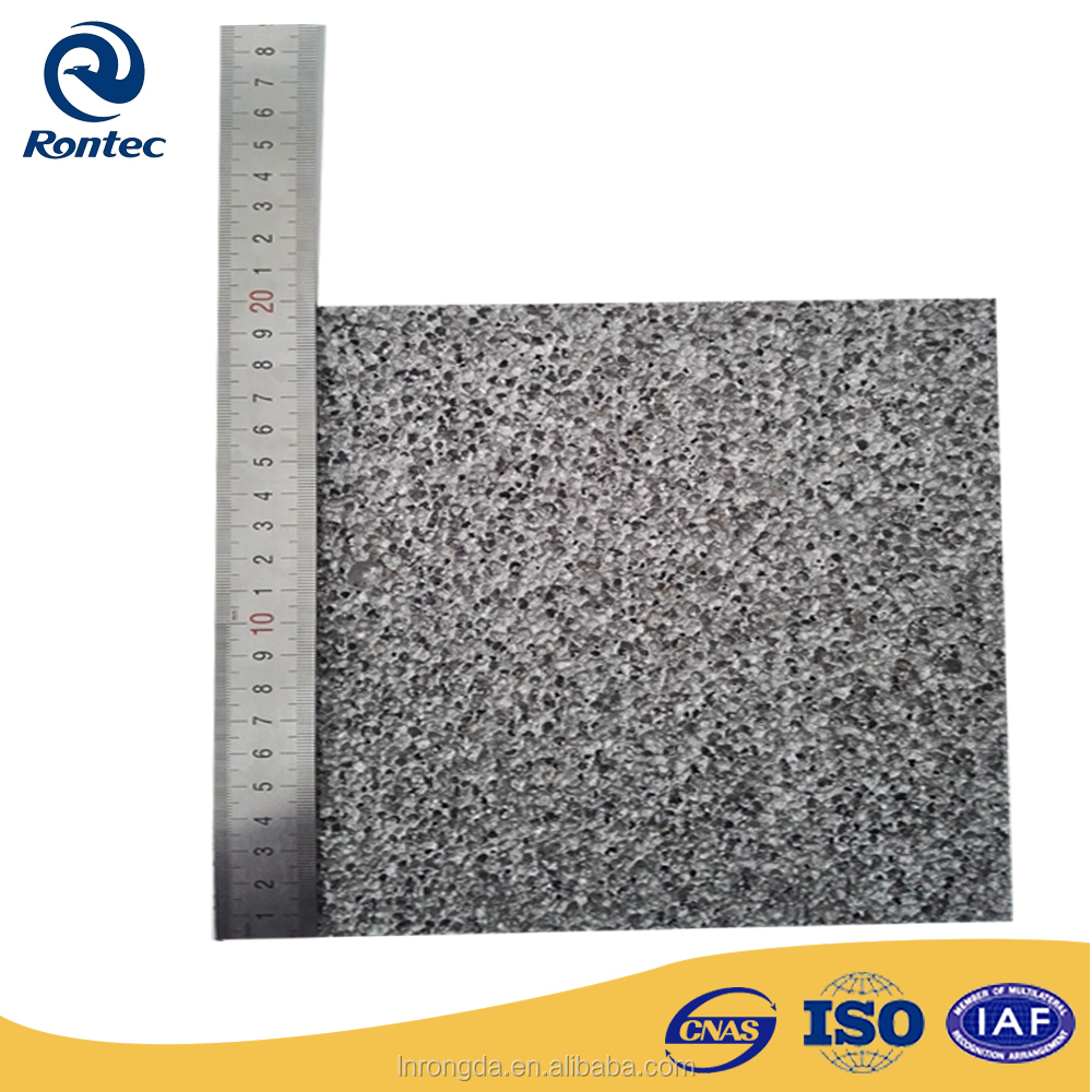electromagnetic shielding material--closed cell aluminum foam