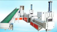 Recycled pp/pe film plastic granulator extrusion line for sale from China factory