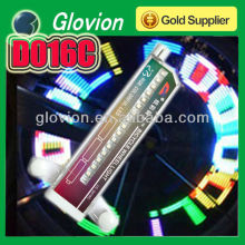 custom message led bicycle wheel lights led bicycle wheel decoration light spinning wheel lights