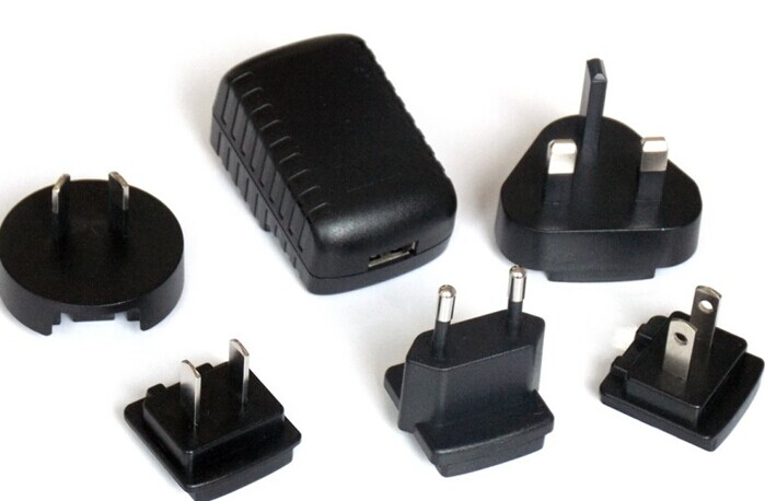 5 volt 1.5amp power adapter interchangeable plug power adapter international power adapter
