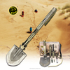 Durable Multi-function Off-Road Auto Tools with Shovel Knife Hoe Hammer Fire Starter