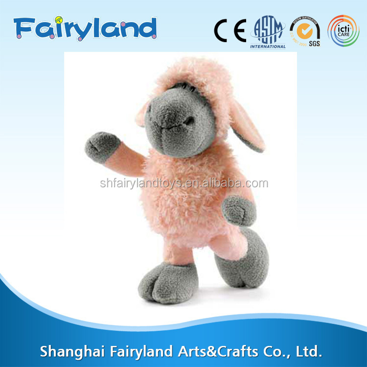 China manufacturer adult plush and stuffed toy, custom best made plush stuffed animal sheep
