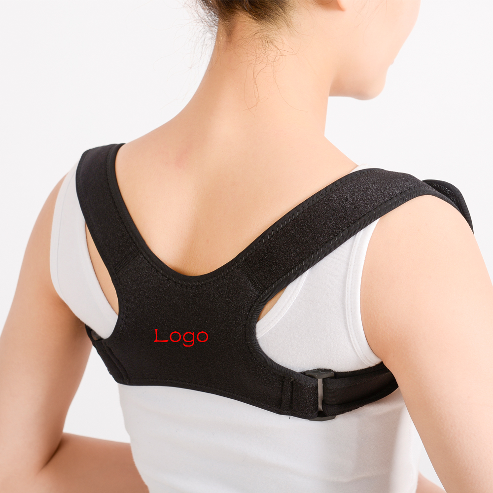 FDA CE Approved Adjustable Upper Back Support Posture Trainer For Back Pain Relief